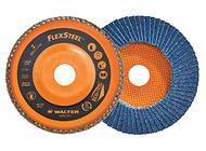 Disque à feuillets de haute performance optimisé pour utilisation sur meuleuses