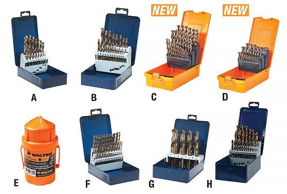 Sst drill bits walter surface technologies sst drill bit sets greentooth Images