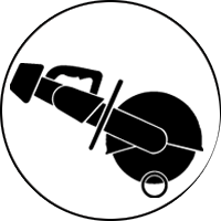 Serra a motor (tubo)