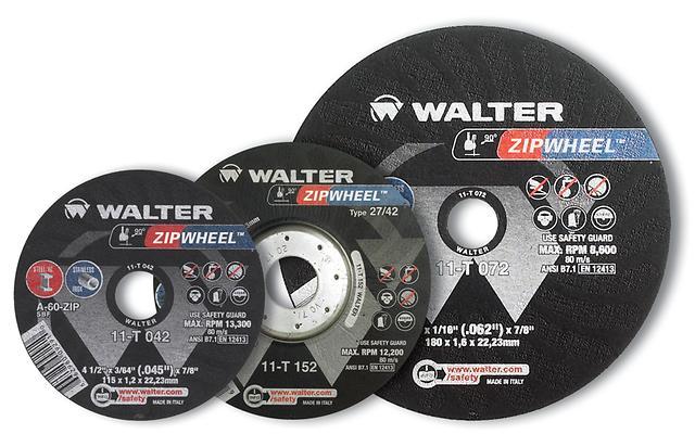 Zip Wheel Walter Surface Technologies