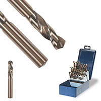 Round Shank drill bits for thin gauge material and sheet metal